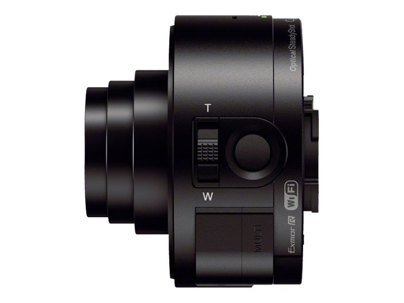 Sony Smartphone Attachable Lens-Style Camera, 18MP 10x Optical HD Video, DSCQX10/B