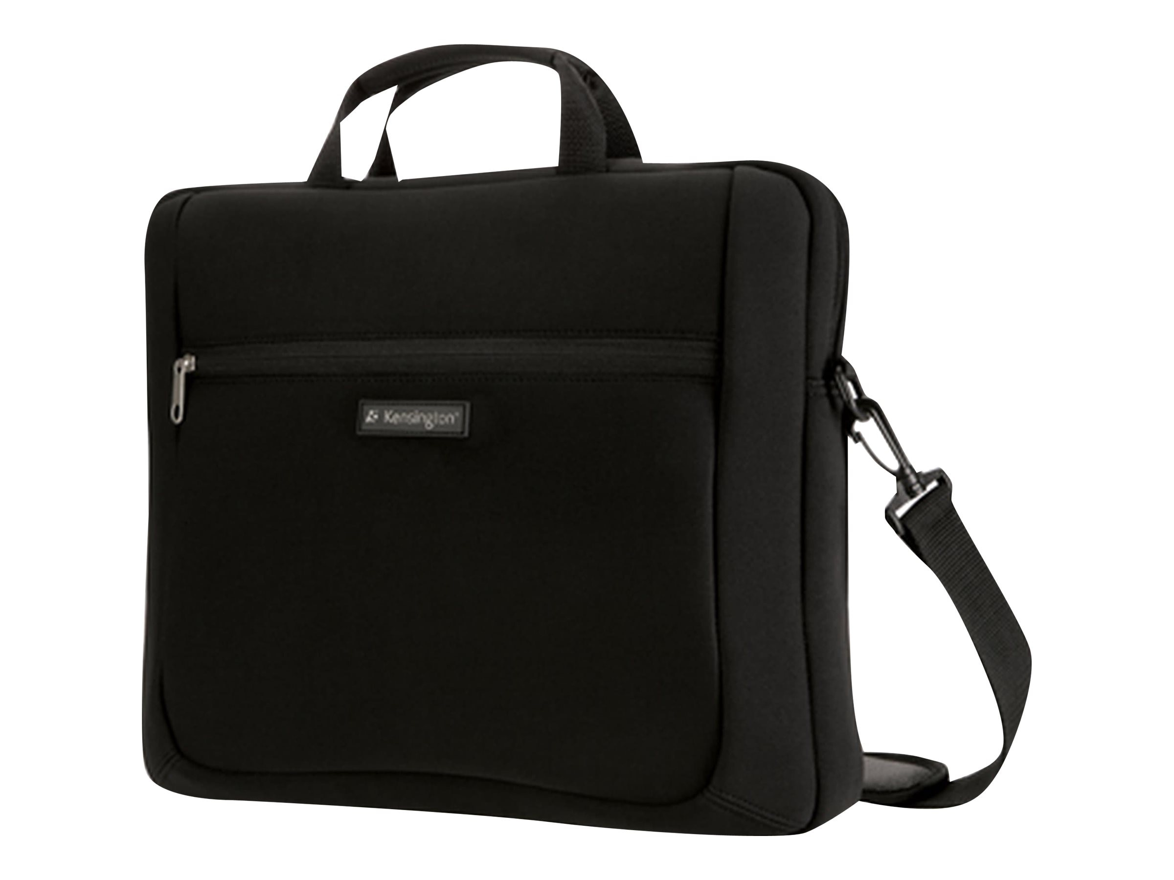 Kensington Simply Portable SP15 Neoprene Laptop Sleeve 15.6, Black, K62561USB