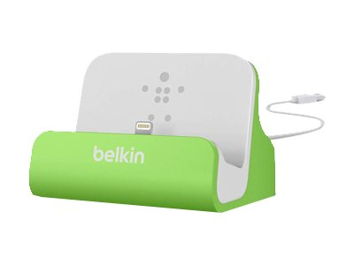 Belkin Mixit ChargeSync Dock for iPhone 5 6 6 Plus, Green, F8J045BTGRN