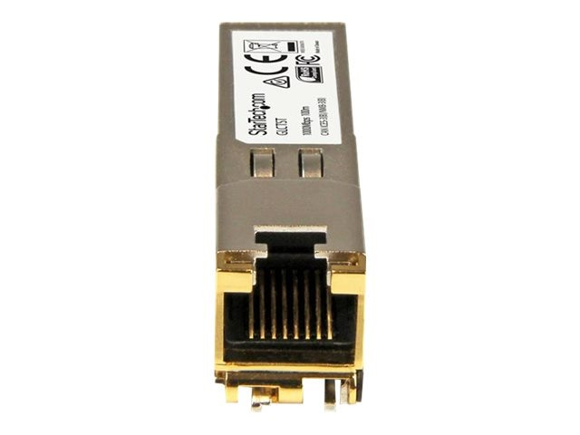 StarTech.com GE RJ-45 Copper SFP Transceiver Module for Cisco GLC-T Compatible, GLCTST