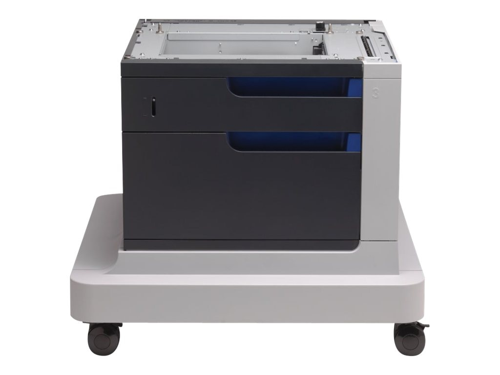HP 500-sheet Paper Feeder & Cabinet for HP Color LaserJet Enterprise CP4020 & CP4520 Printer Series