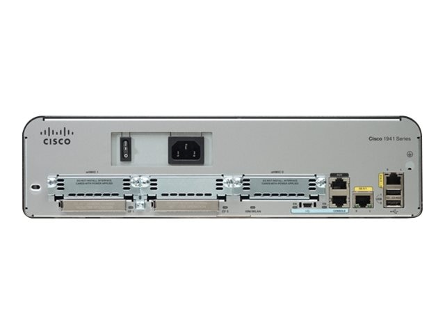 Cisco 1941 Security Bundle w  License Pack, CISCO1941-SEC/K9