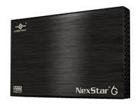 Vantec NexStar 6G 2.5 SATA 6Gb s to USB 3.0 External Hard Drive Enclosure - Black