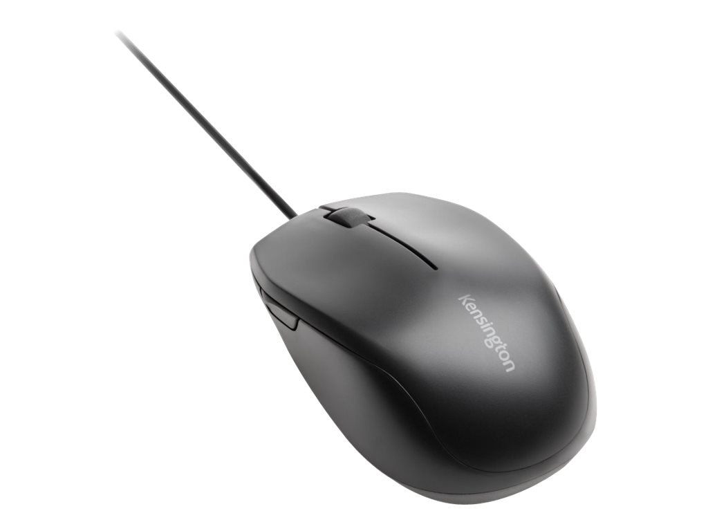 Kensington Pro Fit Wired Windows 8 Mouse, Black, K72323WW