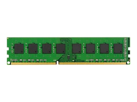 Kingston 4GB PC3-10600 240-pin DDR3 SDRAM DIMM for Select Models, KCP313NS8/4, 31428712, Memory