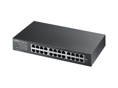 Zyxel GS1100-24E 24PORT 10 100 1000  PERPGIGABIT SWITCH DESKTOP, GS1100-24E, 16529072, Network Switches