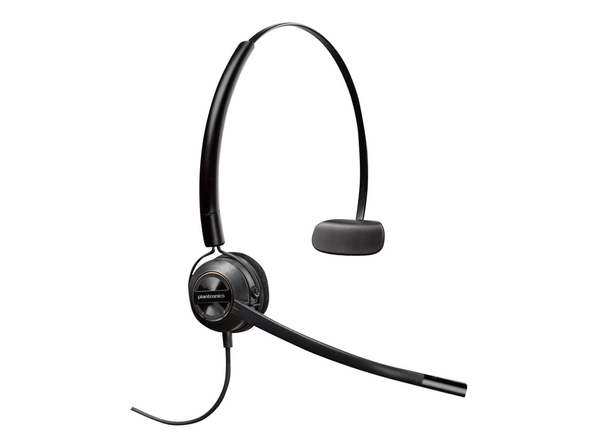 Plantronics HW540 Convertible Mono Headset, 88828-01, 17916411, Headsets (w/ microphone)