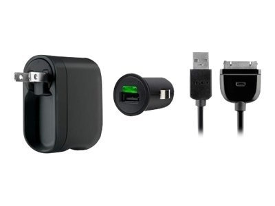 Belkin Charge 2.1A + ChargeSync Kit for iPod, iPhone, iPad, F8Z752TT03, 12434973, Digital Media Player Accessories - iPod