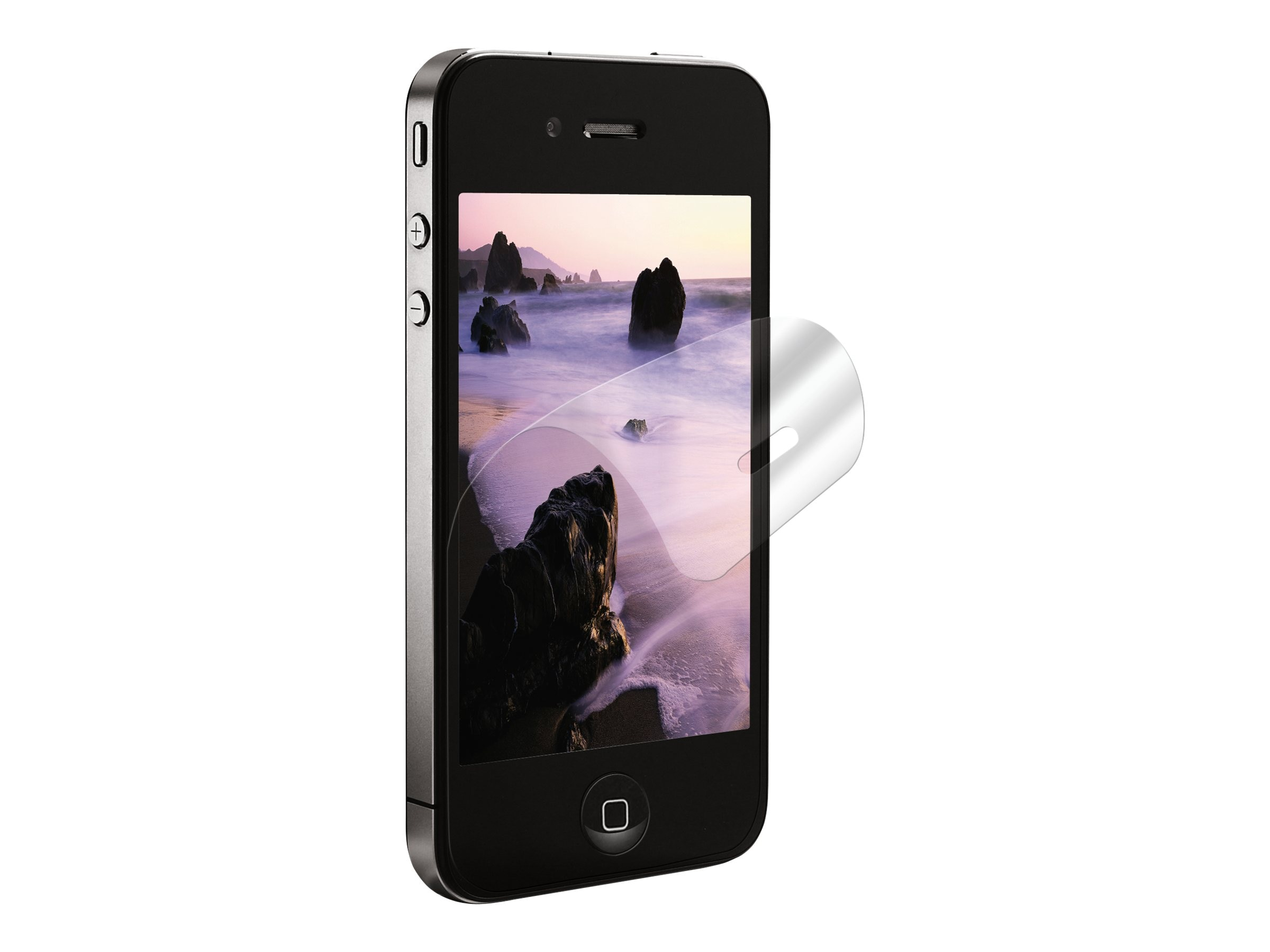 3M Natural View Screen Protector for iPhone 4 & 4S, 98-0440-5243-3, 13537659, Phone Accessories