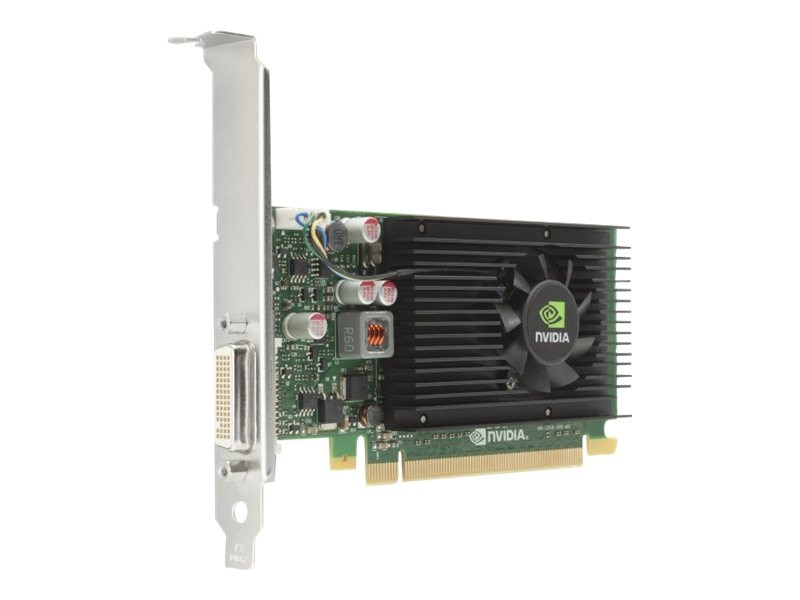 HP NVIDIA NVS 315 PCIe 2.0 x16 Graphics Card, 1GB DDR3, E1U66AT, 16761322, Graphics/Video Accelerators