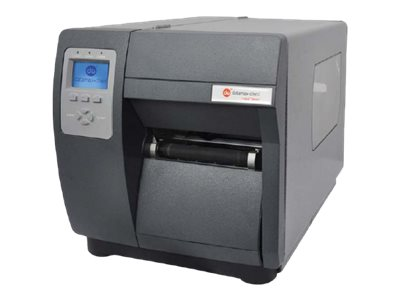 Datamax-O'Neil I-4212E-4 DT 203dpi Serial Parallel USB Ethernet 12ips Printer w  Cutter, Media Hub & US Plug