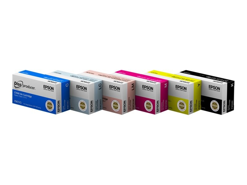 Epson Magenta Ink Cartridge for Discproducer, C13S020450, 9867815, Ink Cartridges & Ink Refill Kits