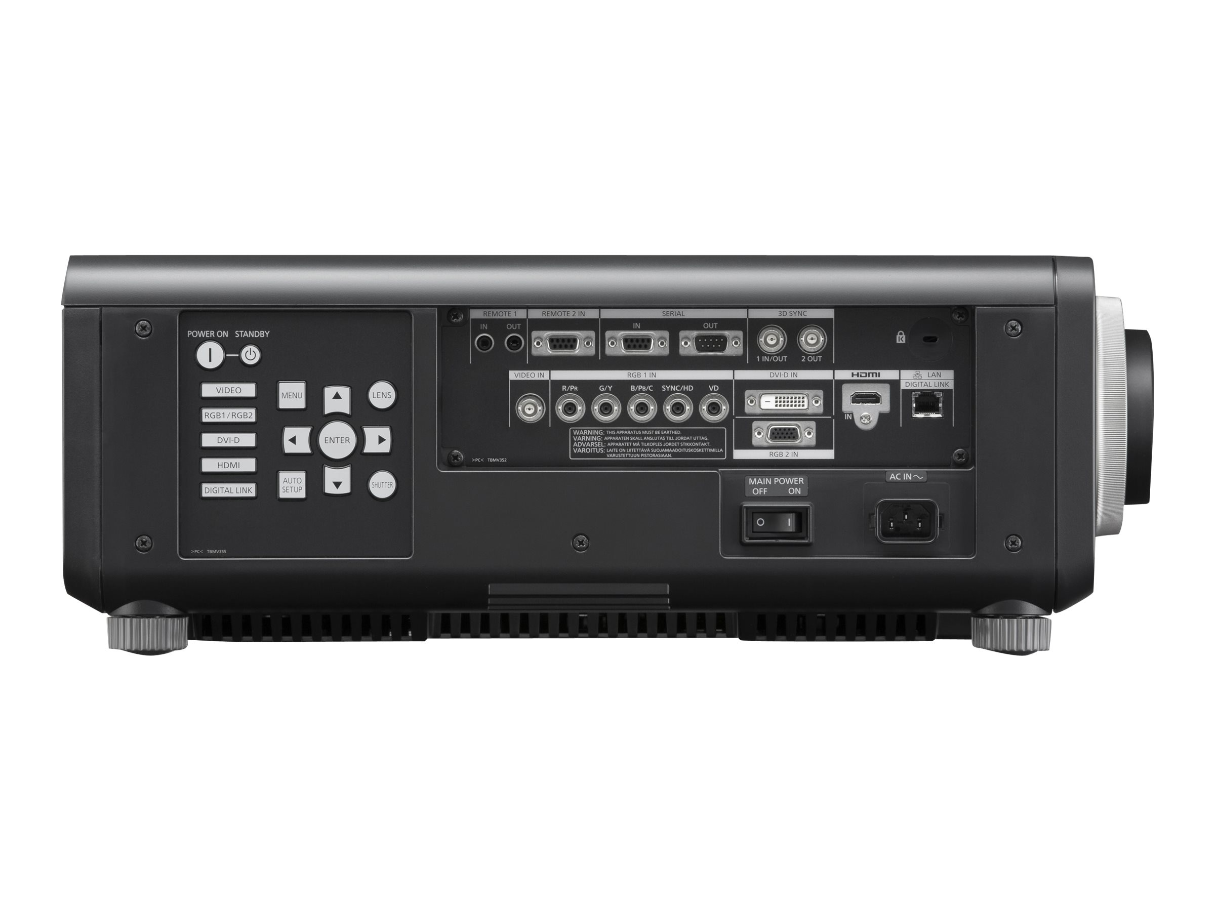 Panasonic PT-DW830UK Image 2