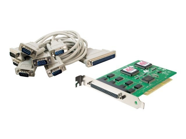 C2G Lava Octopus 8-Port PCI 16550 DB9 Serial Card, 26806, 12696691, Controller Cards & I/O Boards