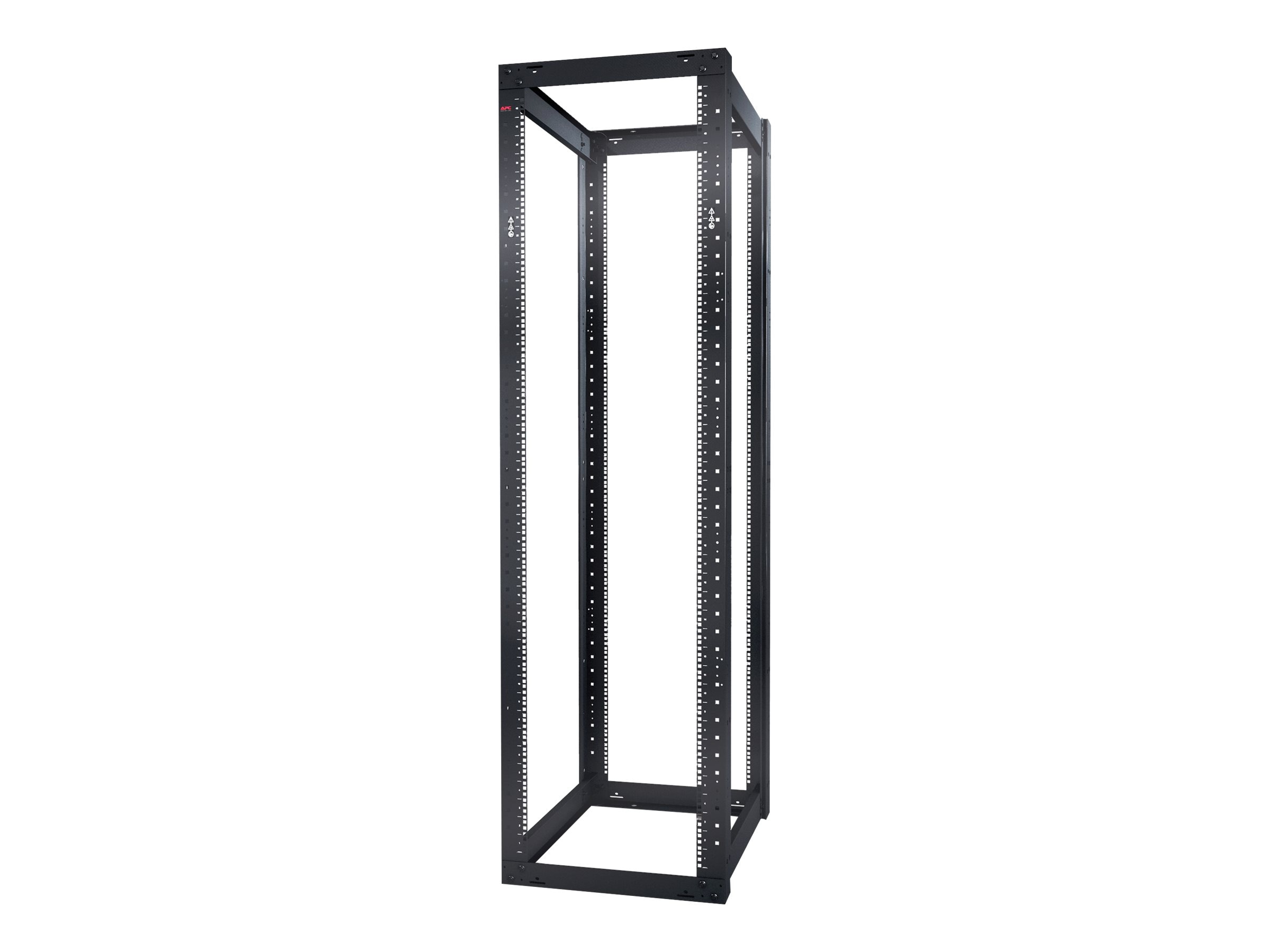APC NetShelter 4-Post Open Frame Rack 44U Square Holes