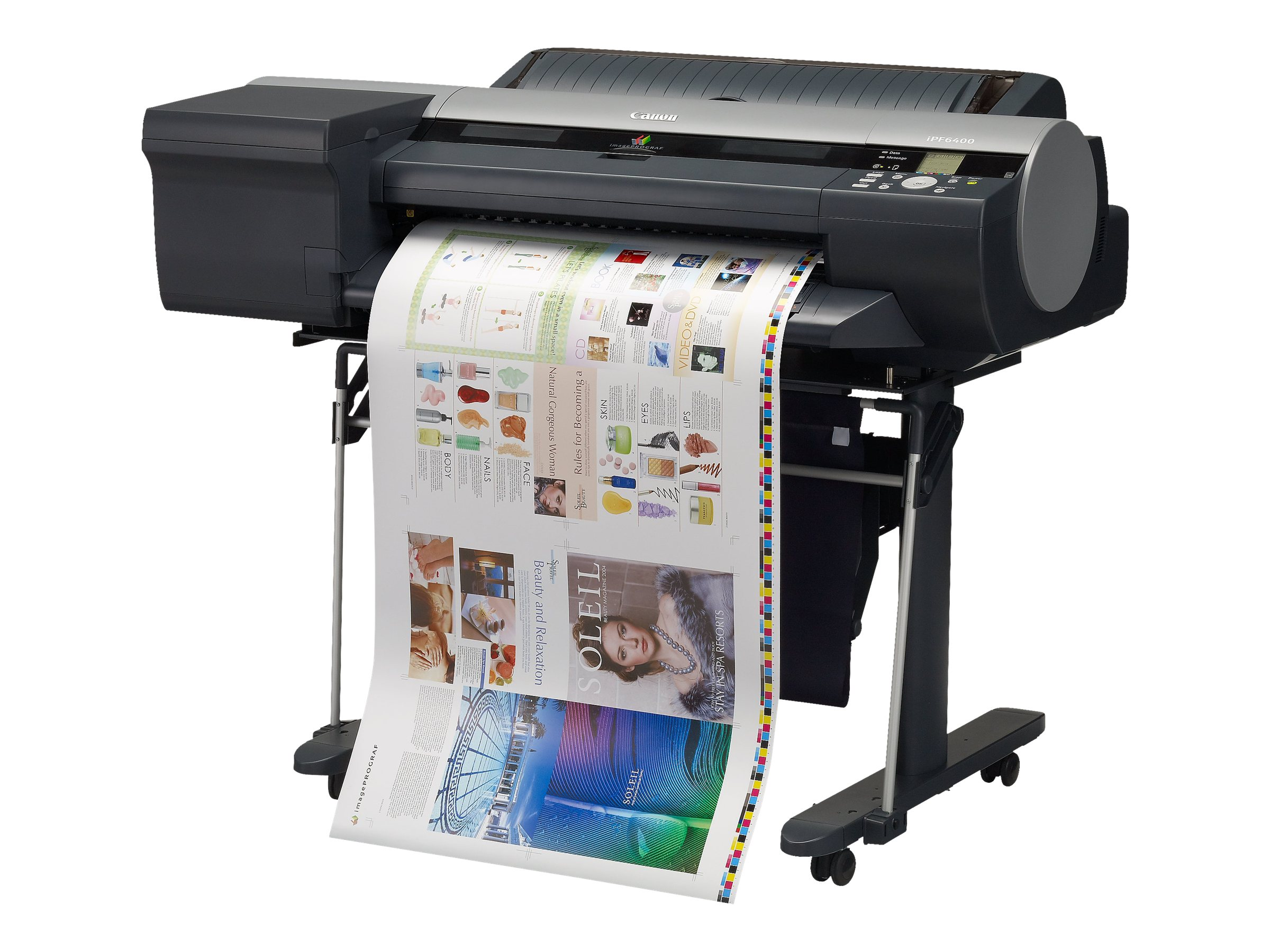 Canon imagePROGRAF iPF6400 Graphic Arts & Photo Printer, 5339B002