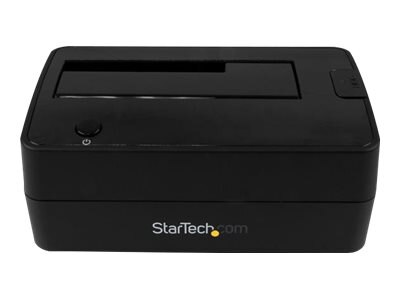 StarTech.com USB 3.1 Gen 2 Single-Bay Dock for 2.5 3.5 SATA Solid State Drive Hard Drive, SDOCKU313