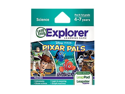 LeapFrog Disney Pixar Pixar Pals, 39091, 13003825, Software - Educational
