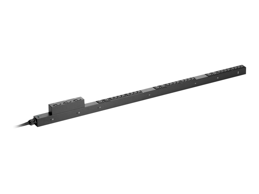 HPE Basic PDU 7.3kVA 230V 32A Int'l IEC 60309 332P6 Input (24) C13 (6) C19 Outlets, H5M70A, 17264408, Power Distribution Units