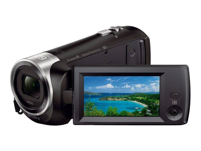 Scratch & Dent Sony HDR-CX440 FHD 60p Camcorder, HDRCX440/B, 30973225, Camcorders