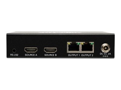 Tripp Lite 2x2 HDMI F F over Cat5 Cat6 Matrix Extender Switch with x2 RJ-45 , TAA, Instant Rebate - Save $15, B126-2X2
