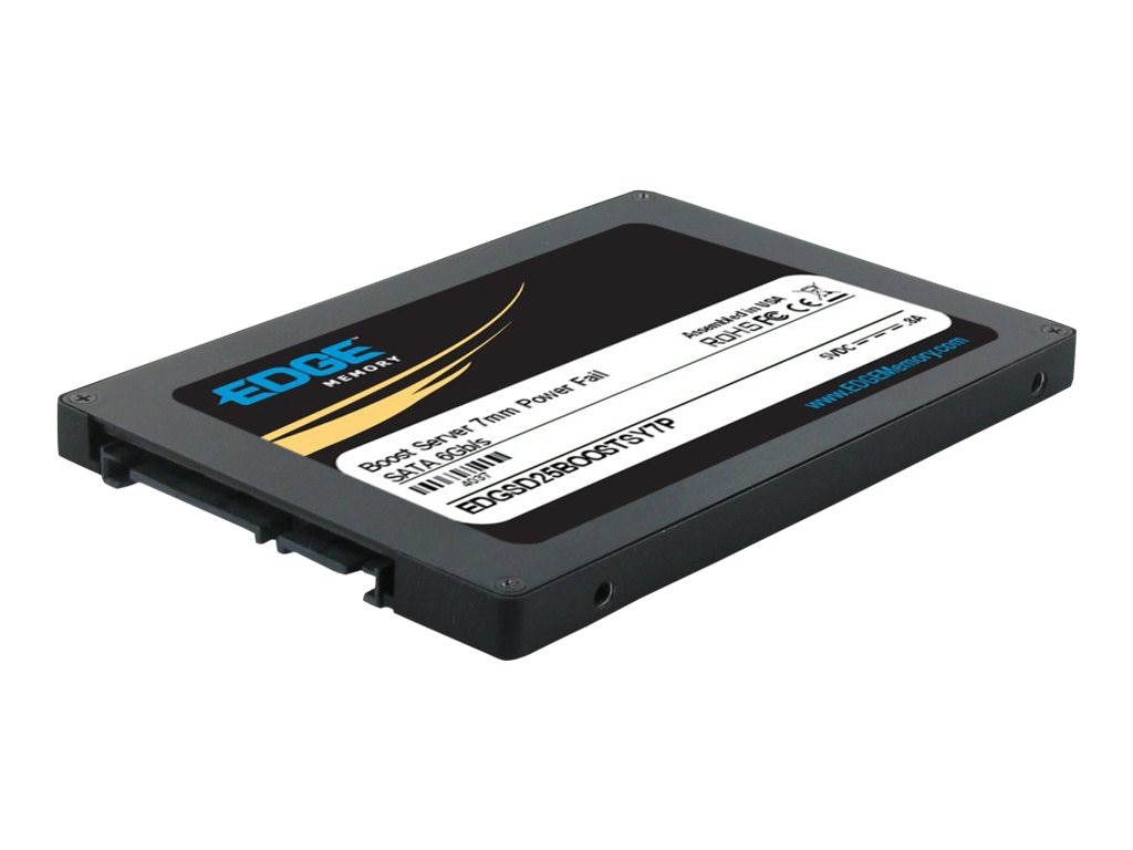 Edge 50GB Boost Server SATA 6Gb s 2.5 7mm Internal Solid State Drive, PE239633, 16493591, Solid State Drives - Internal