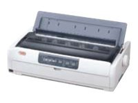Oki ML621 Dot Matrix Printer, 62433901, 12450498, Printers - Dot-matrix