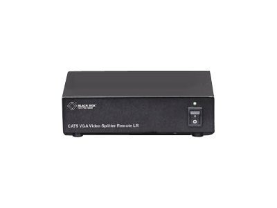 Black Box Long-Range Remote CAT5 VGA Video Splitter Module, AC503A-R2, 15044233, Video Extenders & Splitters