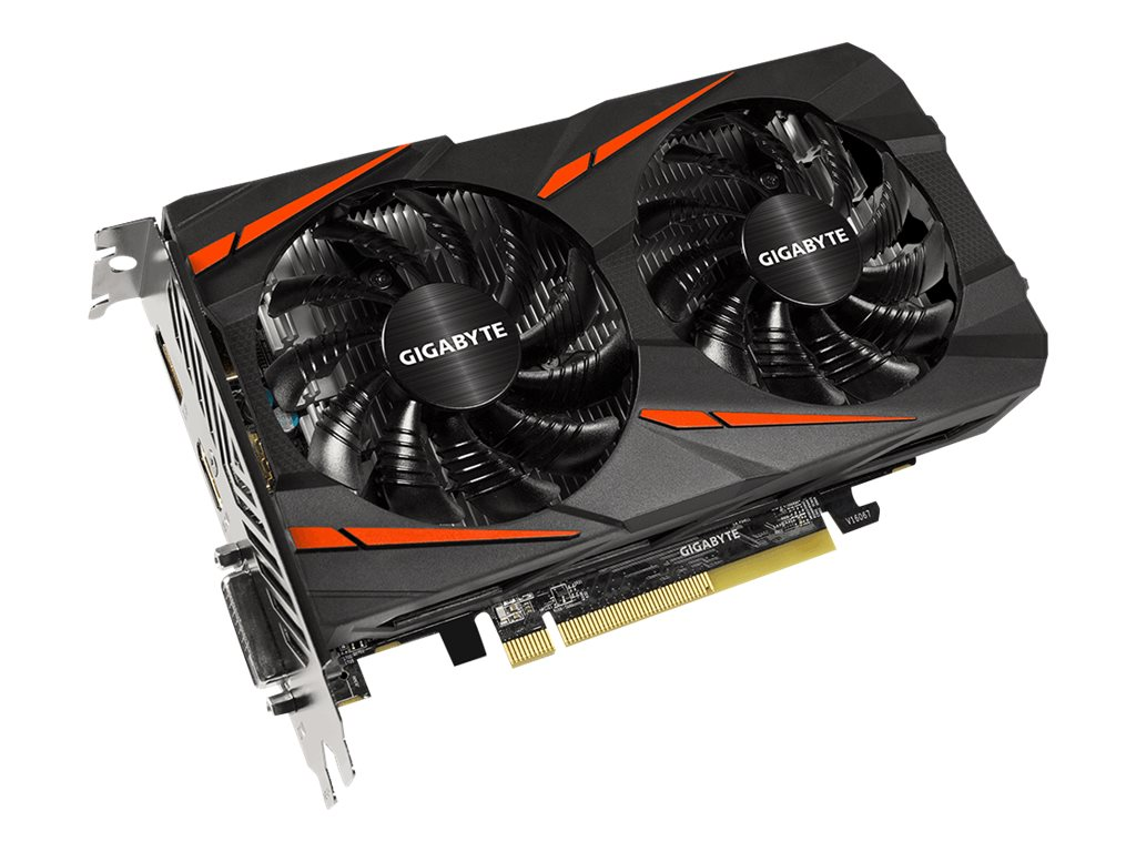 Gigabyte Tech Radeon RX 460 PCIe Overclocked Graphics Card, 4GB GDDR5, GV-RX460WF2OC-4GD