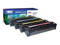CB540A 1980B001AA Black Toner Cartridge for HP 1215 Canon