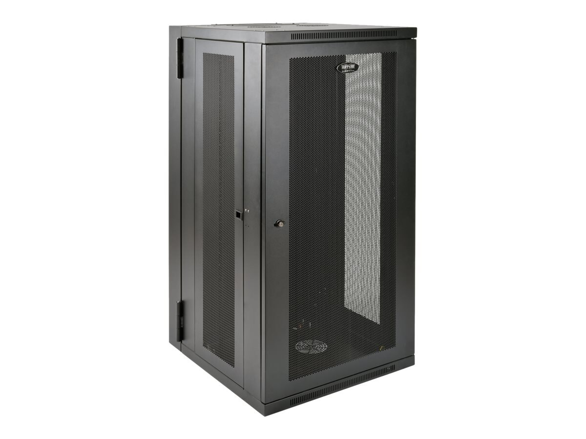 Tripp Lite SmartRack 26U UPS-Depth Wall-Mount Rack Enclosure Cabinet, Hinged Back, SRW26USDP, 31299324, Racks & Cabinets