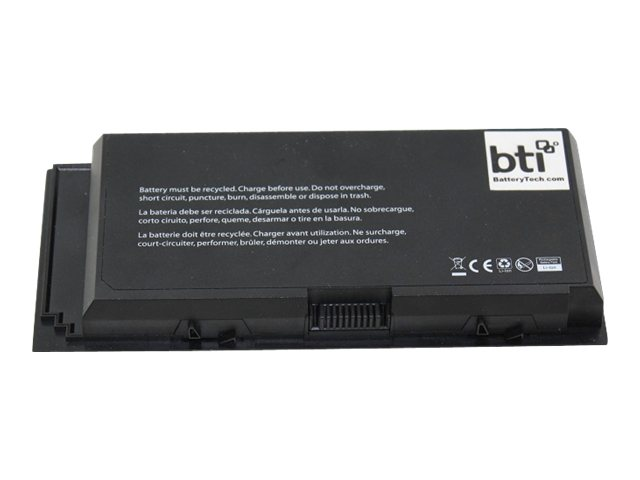 BTI 9-Cell Battery for Dell Precision M4600 9GP08 FV993 312-1178 07DWM, DL-M4600X9, 16124251, Batteries - Notebook