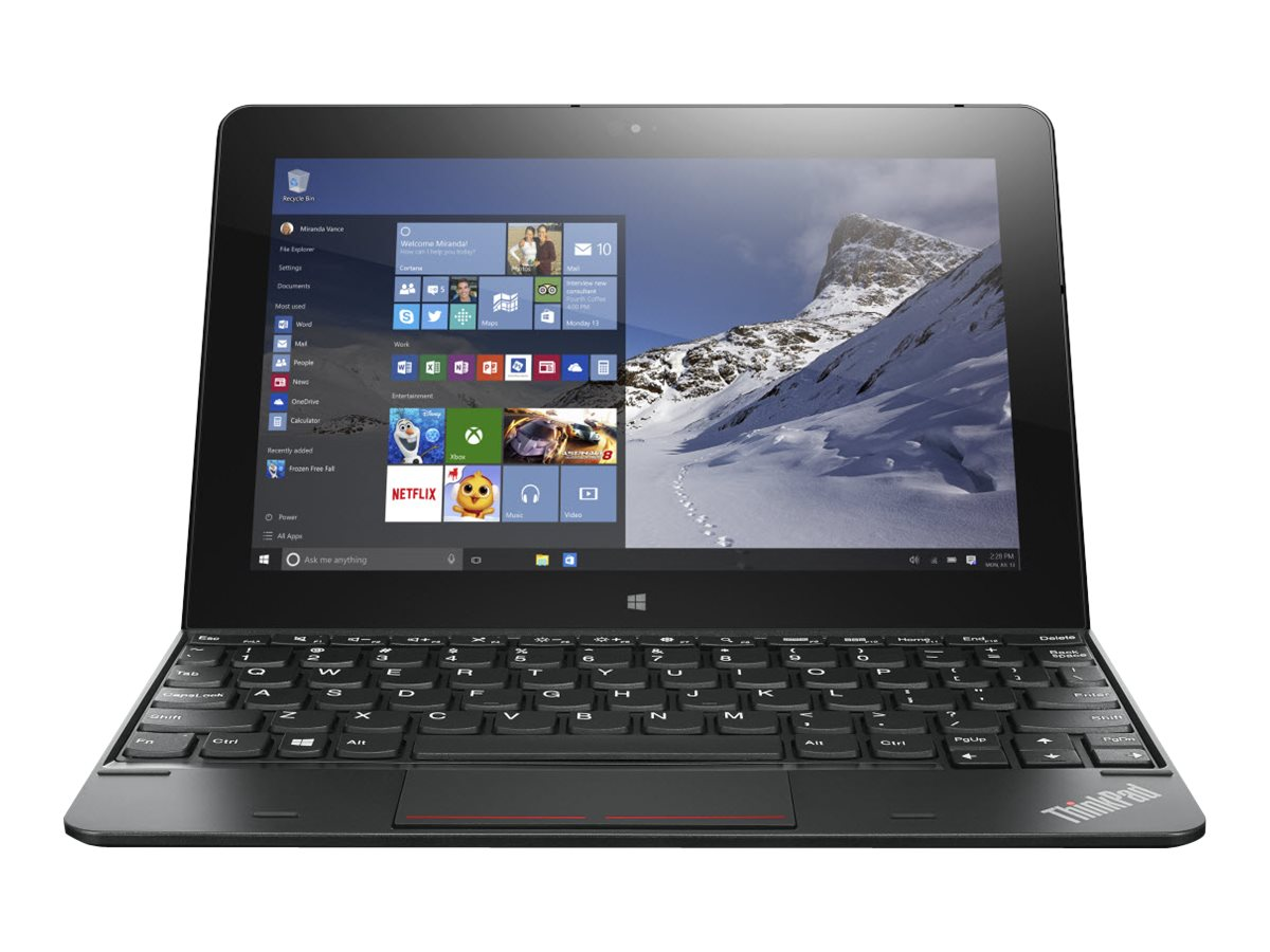 Lenovo TopSeller ThinkPad 10 G2 1.6GHz processor Windows 10 Pro 64-bit Edition, 20E3000RUS, 29491309, Tablets