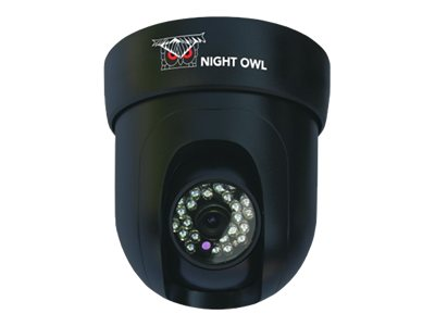 Night Owl 600TVL Pan and Tilt Indoor Camera, Black, CAM-PT-624-B, 16757286, Cameras - Security