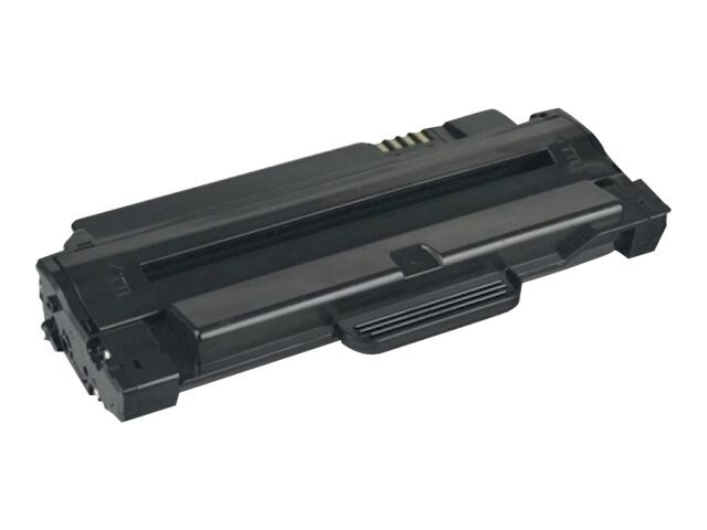 Ereplacements MLT-D105L Black High Yield Toner Cartridge for SamsungML-2525, ML-2525W, SCX-4600, SCX-4623F, SF-650, MLT-D105L-ER, 18373702, Toner and Imaging Components