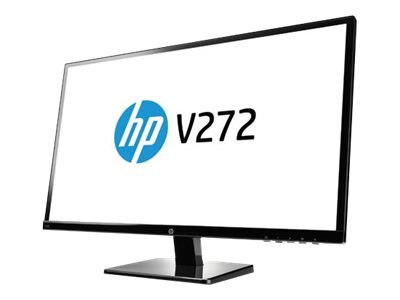 HP 27 V272 Full HD LED-LCD Monitor, Black, M4B78AA#ABA