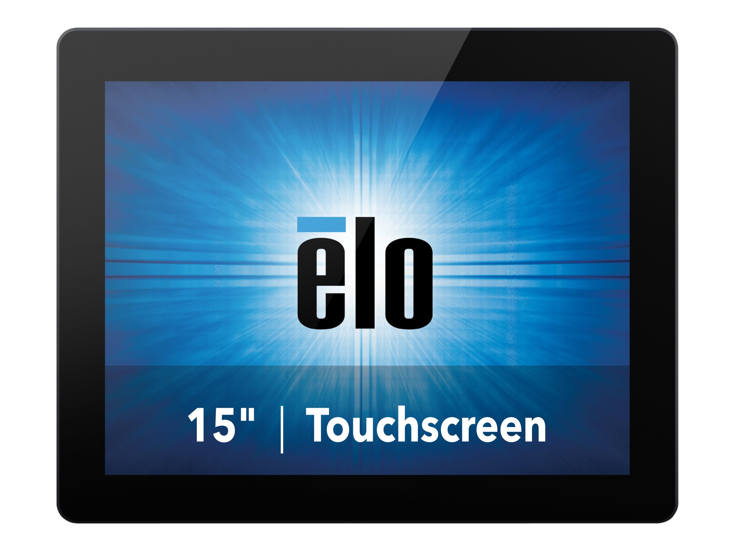 ELO Touch Solutions 15 1590L LED-LCD Projected Capacitive	Touchscreen Monitor, Black