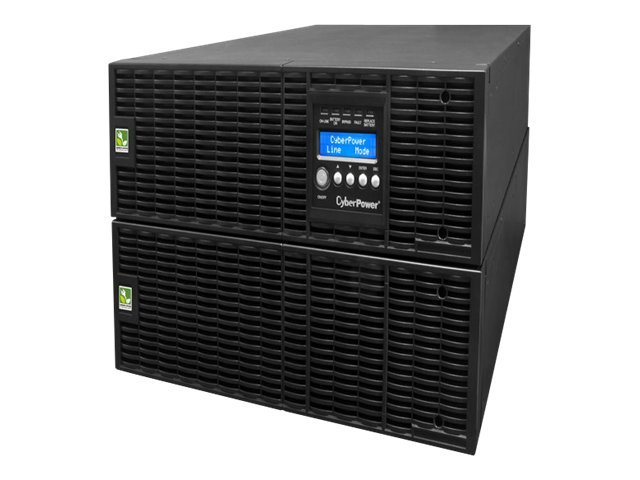 CyberPower Smart App Online 8000VA 7200W 6U Rack Tower UPS, LCD Control Panel, OL8000RT3U, 14249579, Battery Backup/UPS