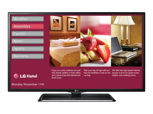 LG 42 LP645H Full HD LED-LCD TV, Black, 42LP645H, 16762991, Televisions - LED-LCD Commercial