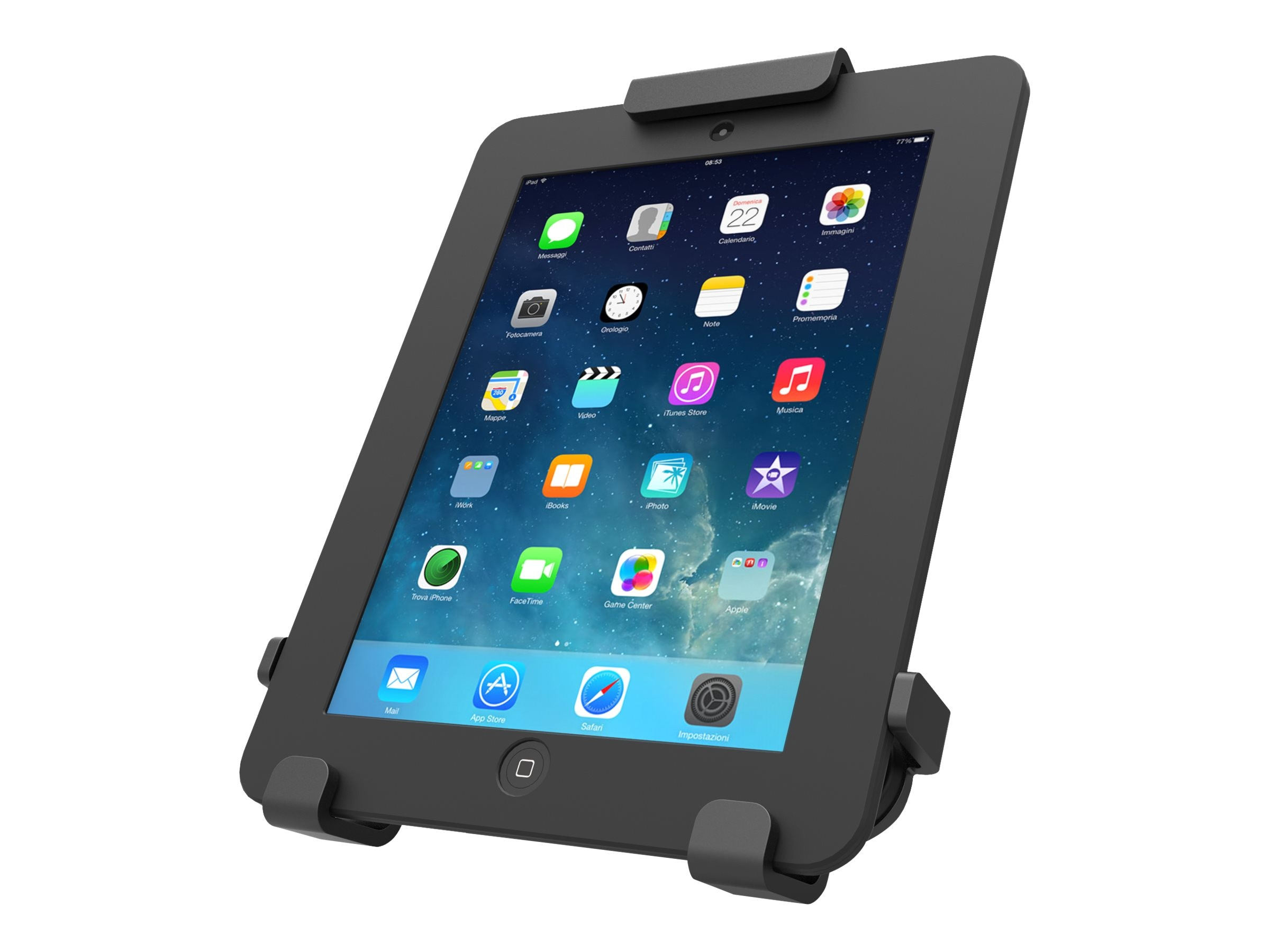 Maclocks Universal Tablet Rugged Locking Case Mount, 820BRCH, 31261182, Security Hardware