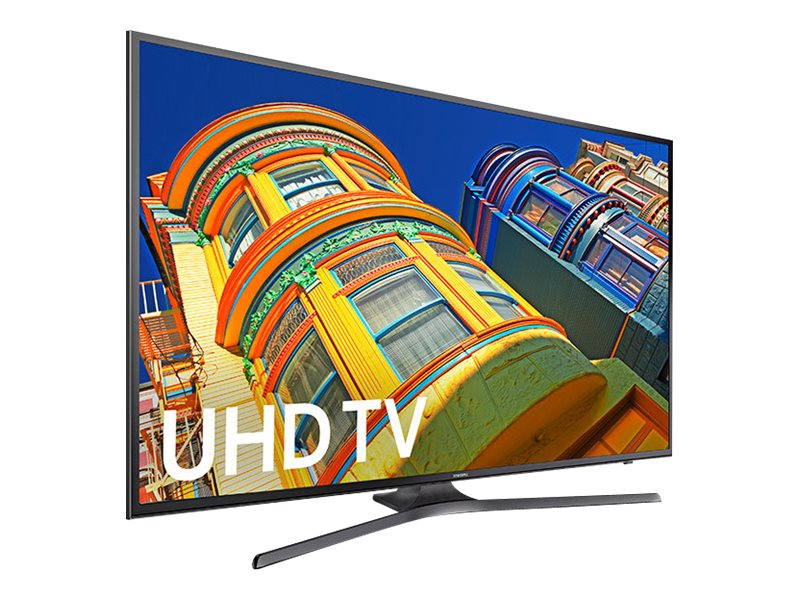 Samsung 40 KU6300 4K Ultra HD LED-LCD TV, Black, UN40KU6300FXZA