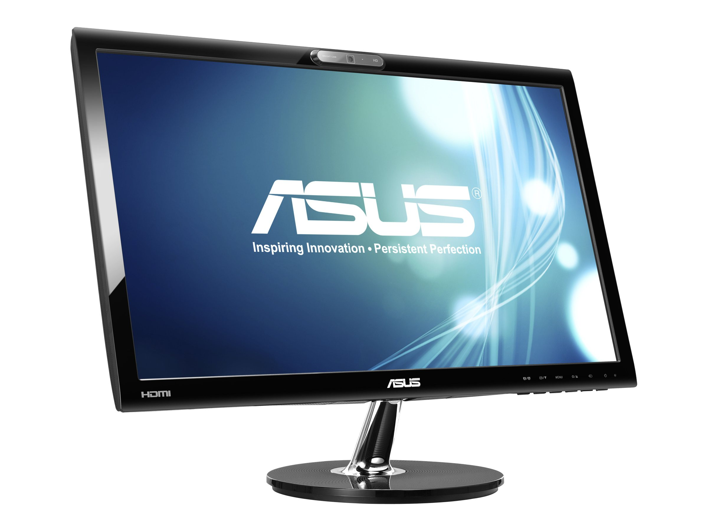 Asus 22 VK228H-CSM LED-LCD Full HD Monitor with Webcam, Black, VK228H-CSM