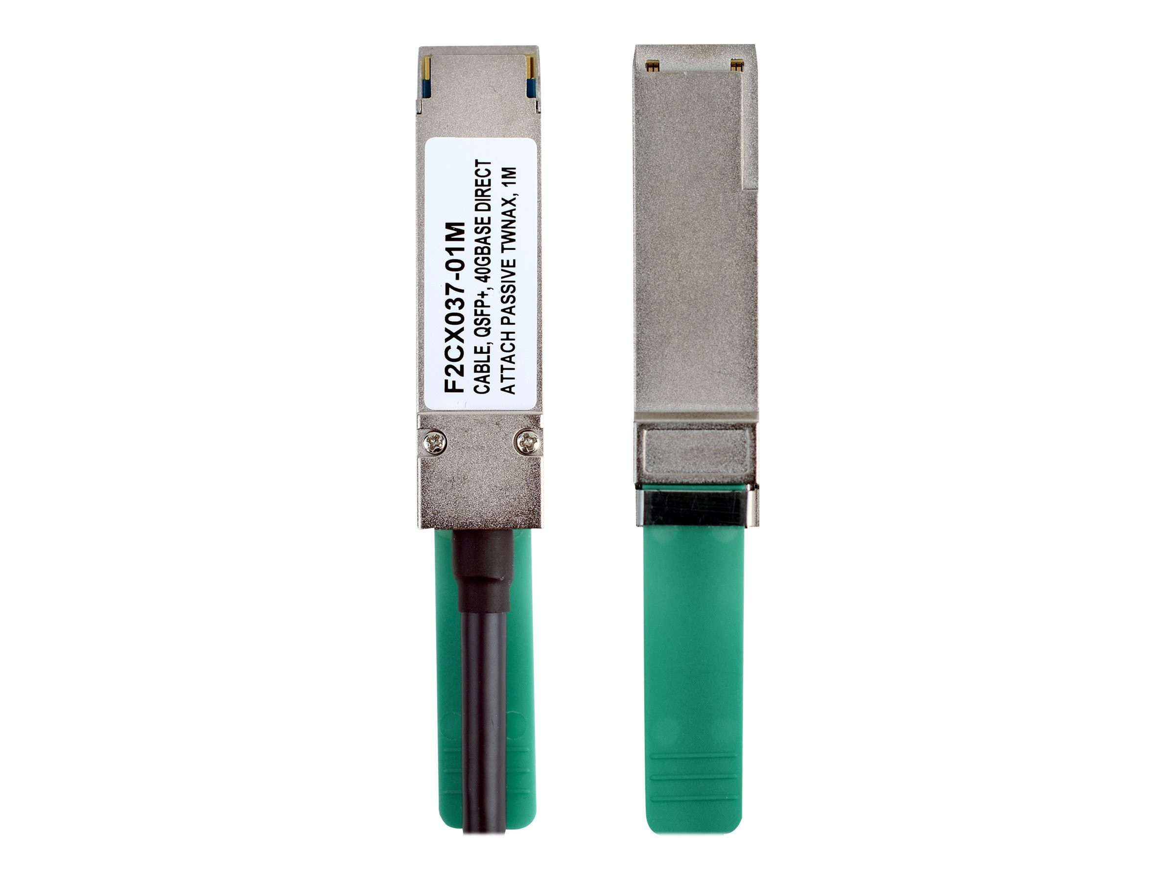 Belkin QSFP+ 40Gbase Direct Attach Passive Twinaxial Cable, 2m, F2CX037-02M