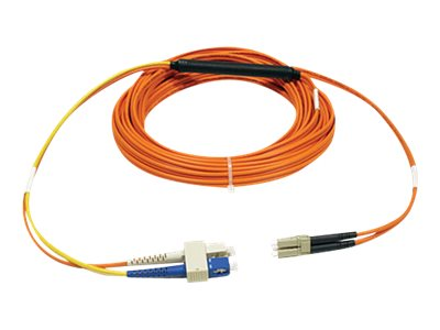 Tripp Lite Mode Fiber Conditioning Patch Cable, SC-LC, 4m, N424-04M, 7485910, Cables