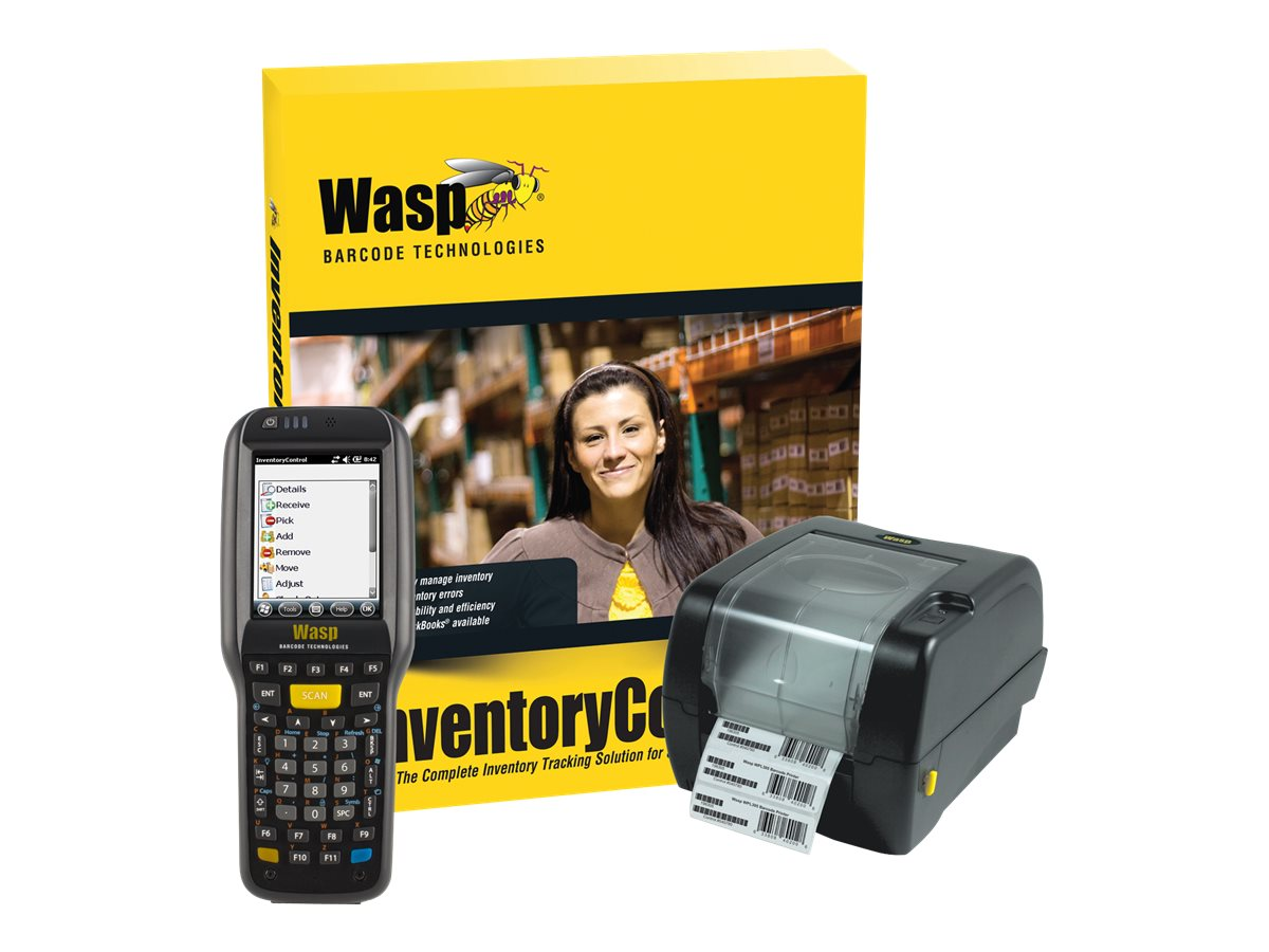 Wasp Inventory Control RF Enterprise w  DT60 & WPL305