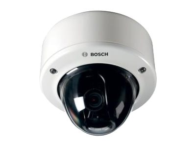 Bosch Security Systems FLEXIDOME IP 7000 VR Camera, IVA Installed, with Surface Mount Box