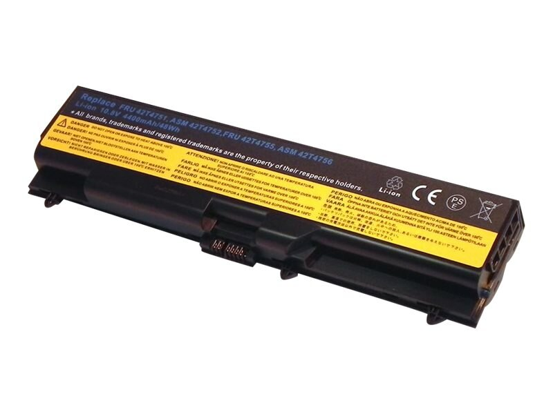 Ereplacements Laptop battery for IBM Lenovo Thinkpad E40, E50, L410, L510, SL410, SL510, T410, T510