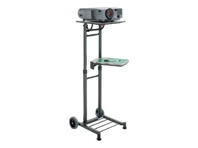Da-Lite Stand Master with Adjustable Shelves