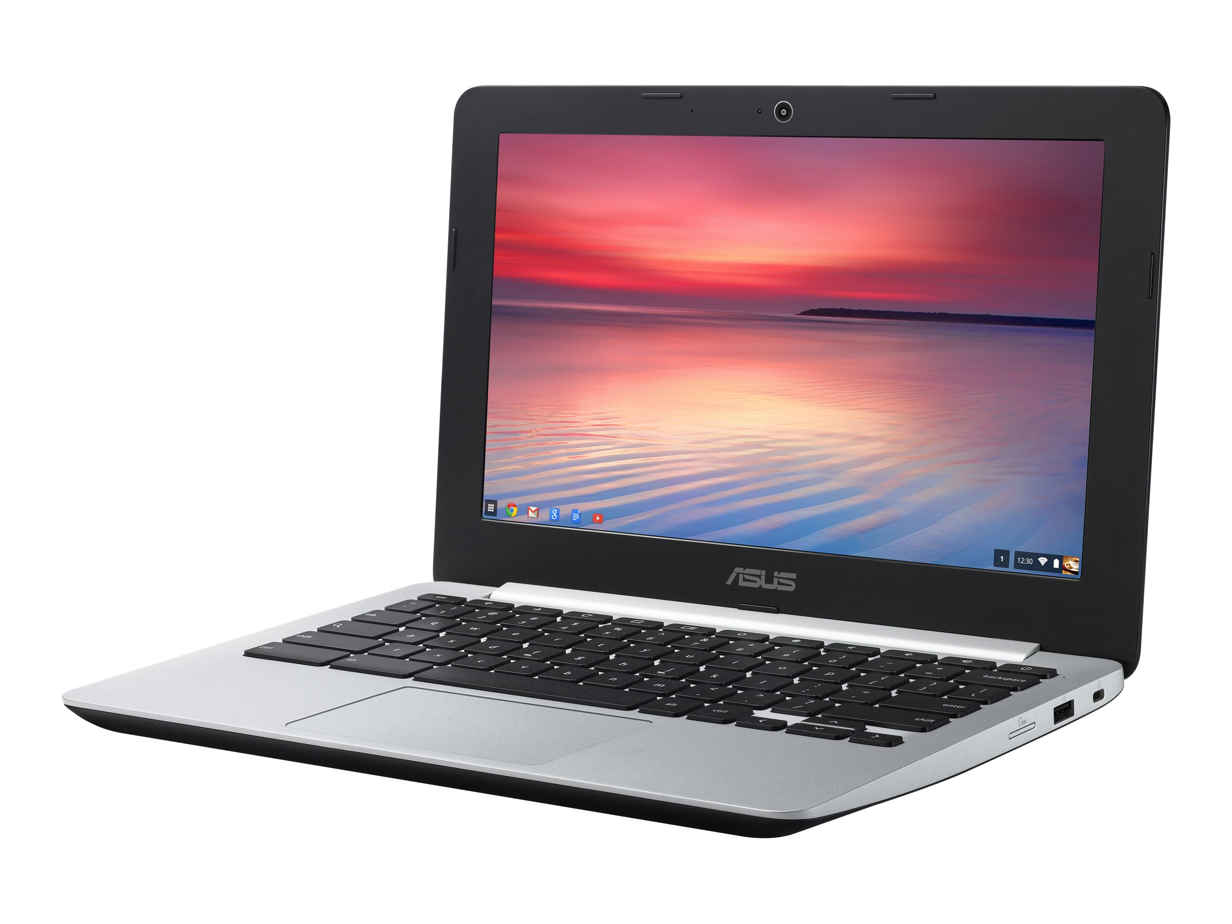 Asus C200MA-DS02 Celeron 2.1GHz 4GB 16GB 11.6 ChromeOS Black, C200MA-DS02, 30846613, Notebooks