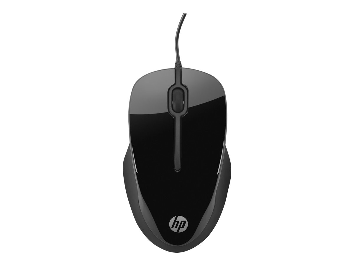 HP X1500 Wired Comfort Mouse, H4K66AA#ABL